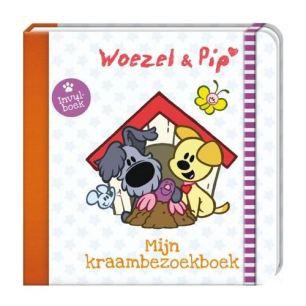 Woezel en Pip kraambezoekboek €14,95